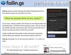 failings